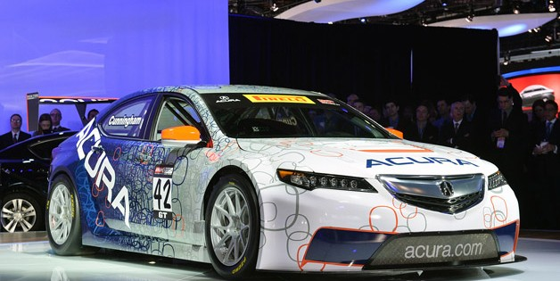 Acura TLX GT Race Car to make MotorSports debut at Detroit Grand Prix