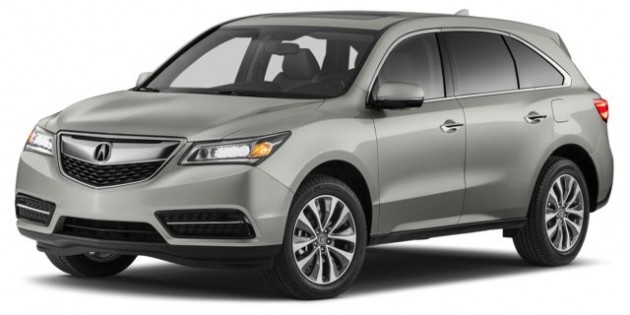 New Acura MDX SUV (2014) in Ontario – Overview