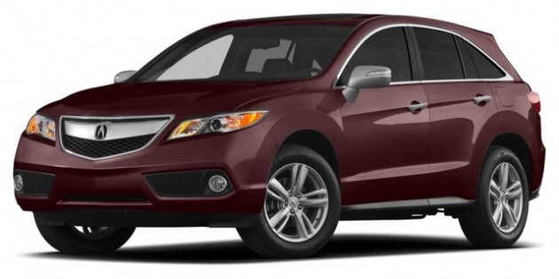 New Acura RDX SUV (2014) in Ontario – Overview