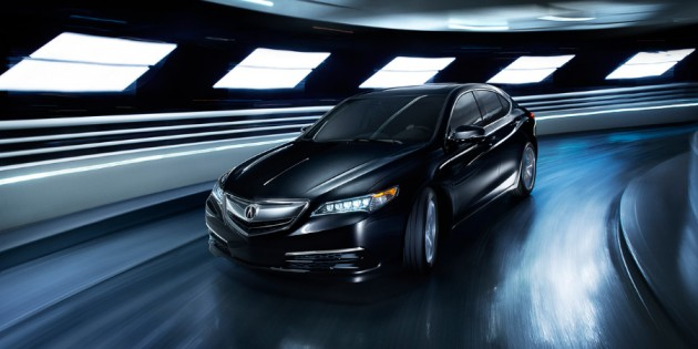 Acura Announces Canadian Launch of 2015 TLX Performance Luxury Sedan