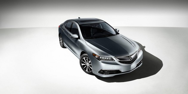 2015 Acura TLX: Overview