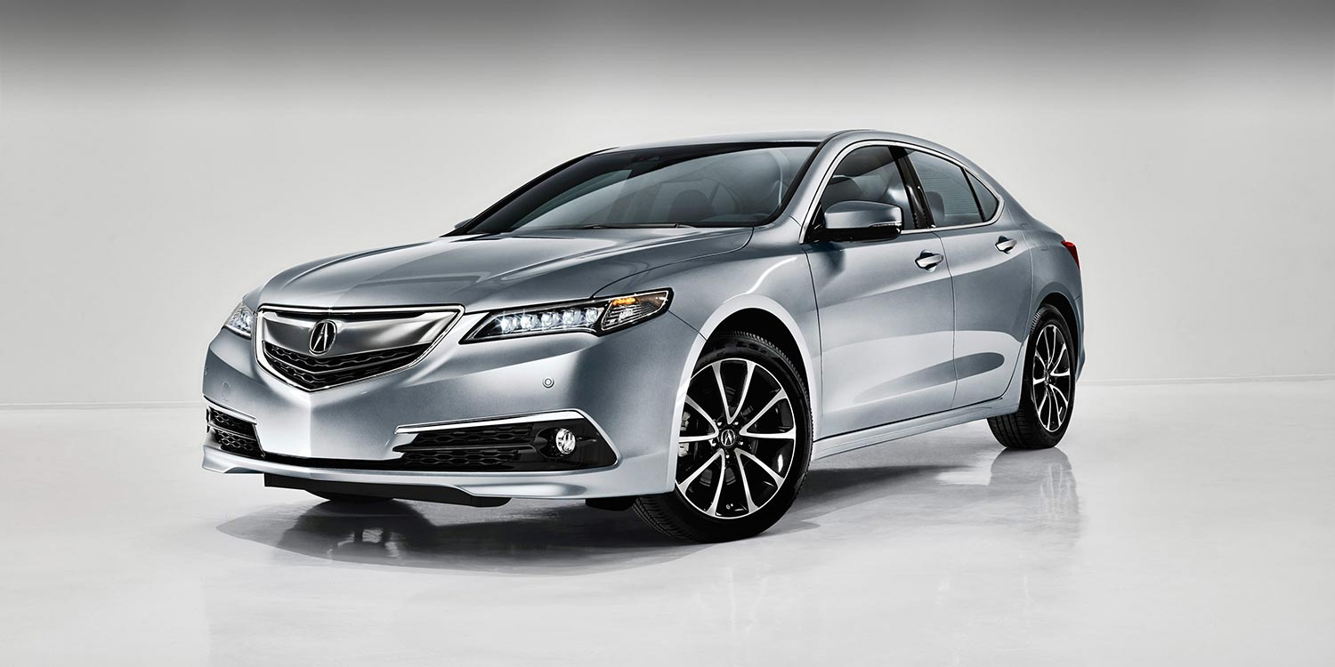 2015 Acura TLX Overview 3