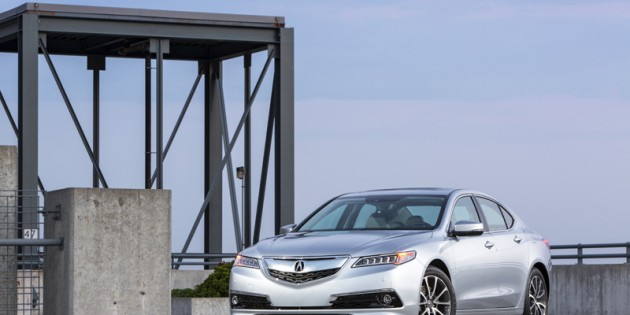 2015 Acura TLX Earns 2014 IIHS TOP SAFETY PICK+ Rating