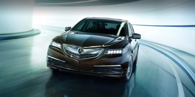 Acura TLX brings Super Handling All-Wheel Drive system to the table!