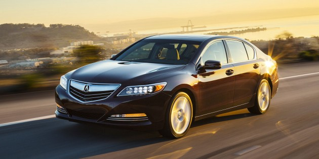 2016 Acura RLX, luxury and maximum safety