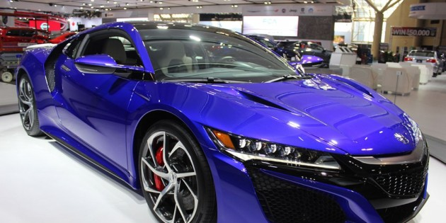 Canadian Launch of 2017 Acura NSX at CIAS